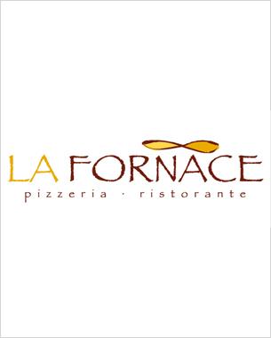 diseño del logotipo de la nueva pizzeria en El Toro, la fornace