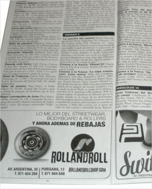 diseño de los anunciós para la campaña de rebajas de rollandroll y switchpeople
