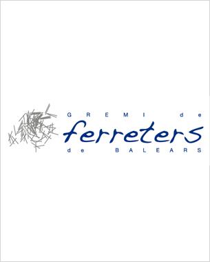 diseño del logotipo para la asociacióm de ferreters de les illes balears