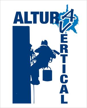 creación de la imagen de la nueva empresa dedicada a trabajos verticales.