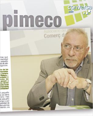 asi como en las ediciones anteriores, nos hemos encargado del diseño y maquetación de la revista conversa que en este número 6 se centra en Josep Capó, Presidente de la Fundació Ibi_comerç