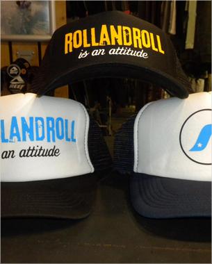en rollandroll no sólo puedes encontrar reconocidas marcas sino que también puedes disfrutar de su propia linea. ROLLANDROLL IS AN ATTITUDE