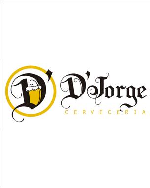 desde Zaragoza nos han encargado la creación del logotipo y el diseño de las cartas de la cervecería d'jorge