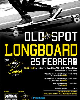 el equipo de switch people nos sigue confiando su imagen, esta vez con el diseño del cartel de la próxima competición de long board que organizan este sábado 25 de febrero