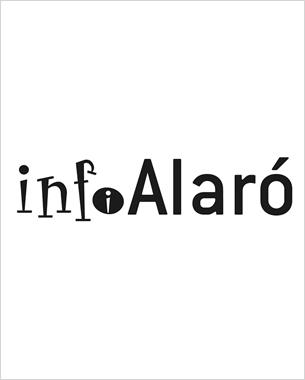 creación del nuevo logo del boletín informativo mensual de alaró; también nos hemos encargado de su impresión