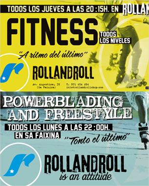 Diseño de la nueva campaña realizada en rollandroll para las salidas que hacen tanto para los mas nóveles como los mas profesionales