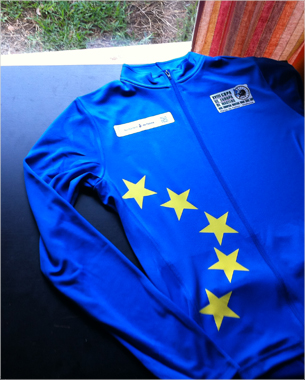 estampación de los maillots tanto de la copa de europa masters, como de la XV Challenge Vuelta a Mallorca