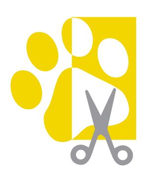 creación del logotipo asi como de diferentes aplicaciones de la asociación de comerciantes y empresarios de peluquerias caninas y felinas de las islas baleares