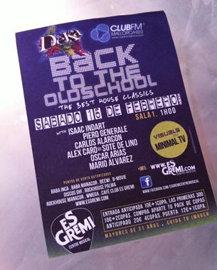 diseño de carteles y flyers para la vuelta de las fiestas deka