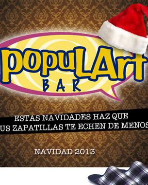 creación de la campaña navideña del populart