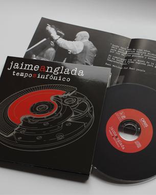 más que un trabajo ha sido un honor poder encargarnos del diseño de temposinfónico; trabajando codo a codo con el artista jaime anglada en la creación del disco además del cartel y flyers para su presentación en el auditorium.