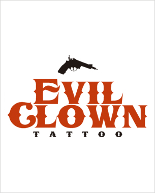 hemos empezado con el diseño de la imagen gráfica de evil clown pero en breve podrás ver su merchandaising en dirty works