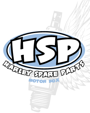 diseño de logotipo, papelería y camisetas para harley spare parts, nuevo concepto de motos... hazlo tú mismo!