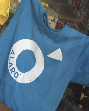 Este año nos hemos encargado de las camisetas de los campus de verano de es cercle de alaró