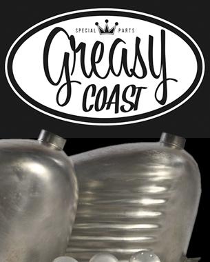 realización del logotipo para el nuevo proyecto de Cesar de costa este, Greasy Coast. Los amantes de las motos y las cosas bien hechas pasad por su facebook y vereis el nivelazo