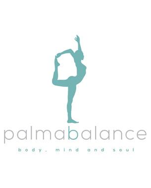 Diseño del logotipo para el centro palma balance