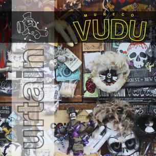 "Diseño de la portada del nuevo single ""muñeco vudu"" del grupo Urtain."