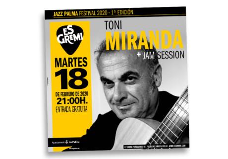 Concierto Toni Miranda